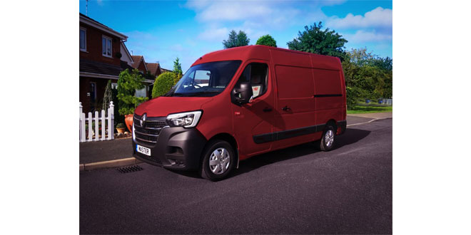 Renault Trucks celebrates 40 years of Master with 'Ruby EDITION'