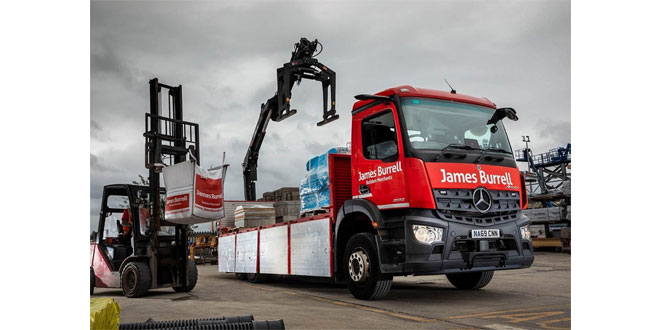 Safety-focused James Burrell builds towards FORS Silver with new-generation Mercedes-Benz Arocs