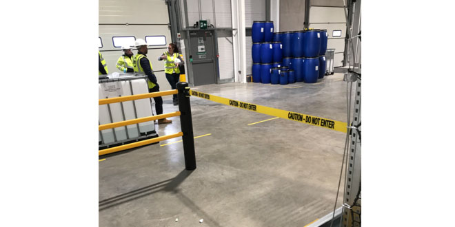Government guidance recommends Temporary Barrier use