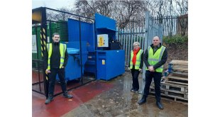 Cardboard box manufacturer Greyhound Box invests in Riverside compactor