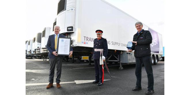 Gray & Adams receives prestigious Queen's Award for Enterprise from Lord-Lieutenant of Aberdeenshir