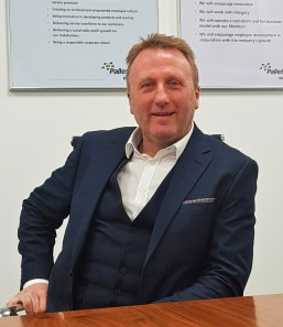 Rob Gittins Palletways UK managing director