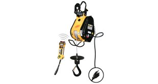 OZ Lifting Launches Wireless Builder's Hoist