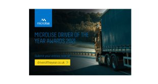 The Search Begins for The Microlise Driver of the Year 2021