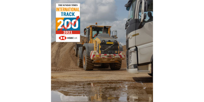 Brigade Electronics listed on The Sunday Times International Track 200 for third consecutive year