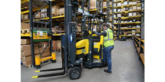 Launch of new Aisle Master Order Picker Aisle Master-OP