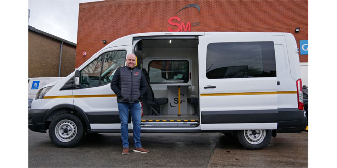 Leeds engineer SM UK invests 200000 GBP to produce Yorkshires first Covid-safe welfare vehicles