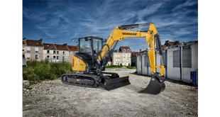 The Yanmar ViO50-6B power and durability for urban worksites