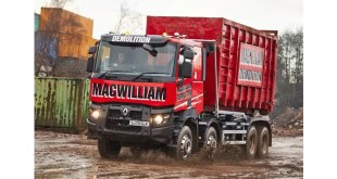MACWILLIAM DEMOLITION STEPS UP THE POWER WITH RENAULT TRUCKS K520