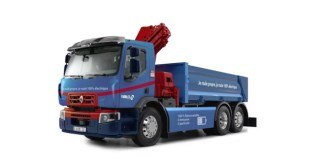 RENAULT TRUCKS PRODUCES ITS FIRST FULLY-ELECTRIC CONSTRUCTION TRUCK FOR THE NOBLET GROUP