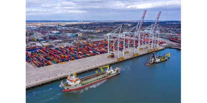DP World announces £40m investment in Southampton this year to meet growing customer demand over next decade