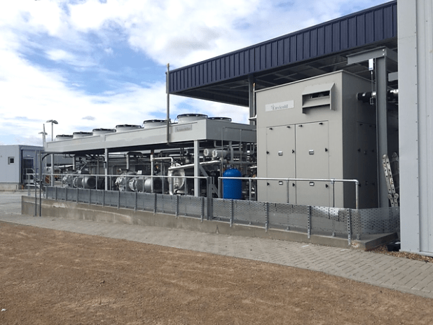 A solution featuring a low-charge ammonia Azanechiller from Star Refrigeration