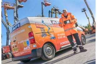 Powered access hire company AFI has boosted productivity by 30 percent with new mobile tech