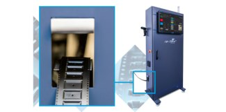 Adaptsys' Re-flex II, the affordable pocketed-tape former which enables small-parts packaging on demand
