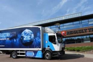 HERE AND NOW RENAULT TRUCKS ELECTRIC RANGE FULLY CHARGED FOR ITT HUB 2021