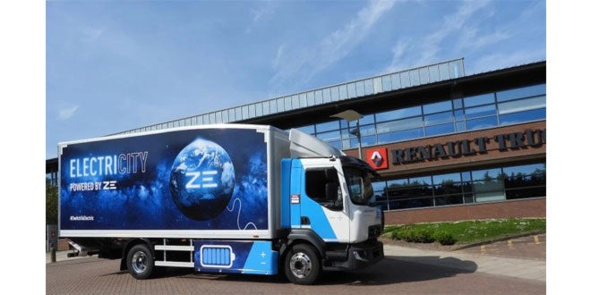 Here and Now: Renault Trucks electric range fully charged for ITT Hub 2021