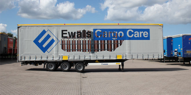 Roland International and Ewals Cargo Care have further developed XLS Side Curtains