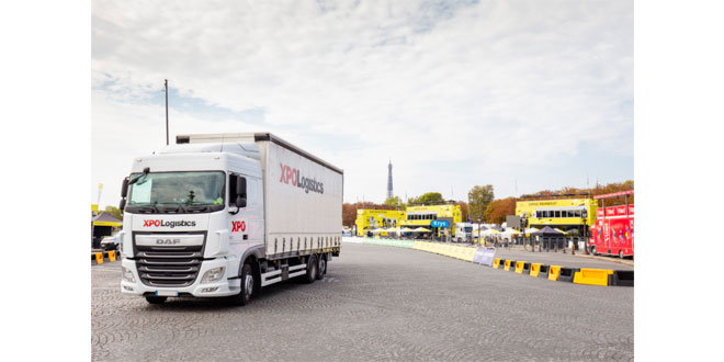 XPO Logistics moves the Tour de France for the 41st Year