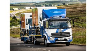 Dale Fleet Logistics' tough new Mercedes-Benz Atego puts in the hard miles so electric vans don't have to