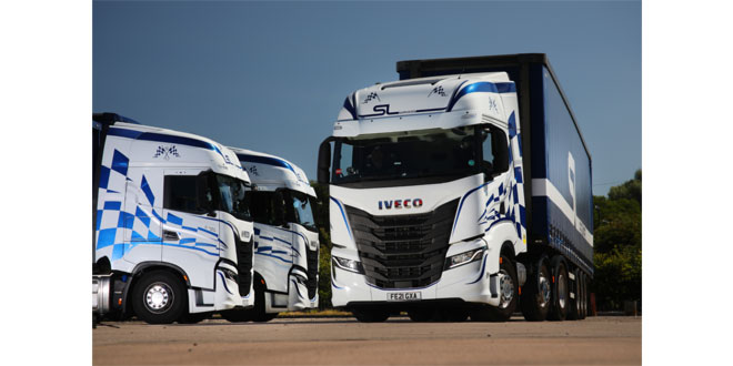 Driver appeal, uptime and dealer service trifecta sees Stoke's S&L Services take four new IVECO S-WAY