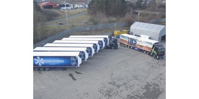 Hawthorns Logistics refrigerated fleet now 100 percent Carrier-Cooled