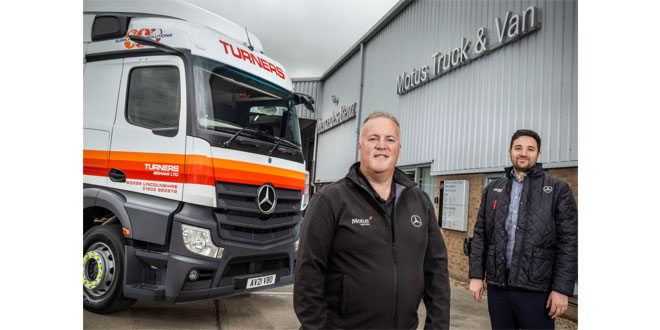 Introducing Motus Truck & Van, a new force in Mercedes-Benz and FUSO commercial vehicles
