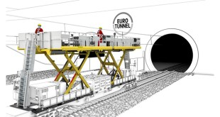 PALFINGER supplies a tailor-made solution for Eurotunnel maintenance work