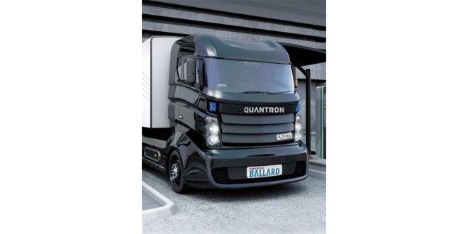 Ballard Power Systems and Quantron AG announce a strategic partnership for the development of hydrogen fuel cell electric trucks