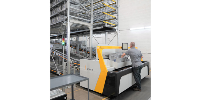 DEMATIC WINS MULTIMILLION EURO CONTRACT WITH LEADING FINNISH GROCER, KESKO