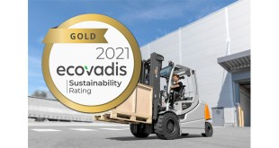 STILL receives internationally renowned sustainability certificate in gold from EcoVadis