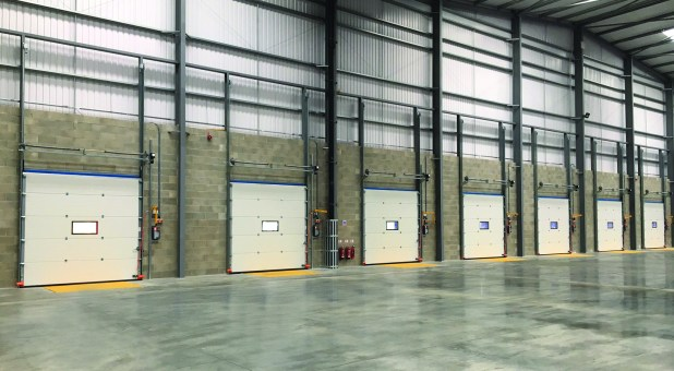 Stertil loading bay equipment at Integrated Third Party Logistics