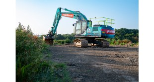 UK's first Kobelco semi-automatic excavator has the X-Factor