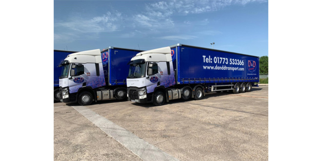 Nottingham transport firm D&D Transport joins Palletways Network