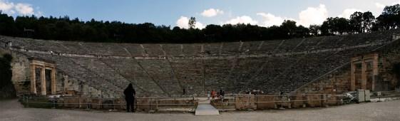 Epidaure, le théatre