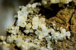 Micro cristaux de quartz