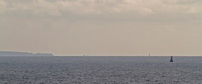 L'Île de Sein à l'horizon