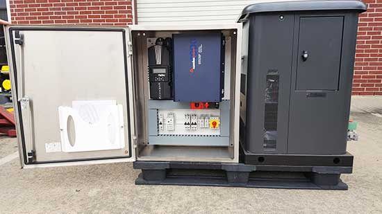 Mi-Grid energy management system.