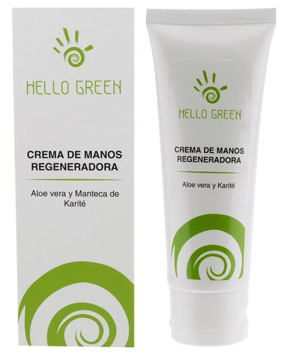 crema de manos natural