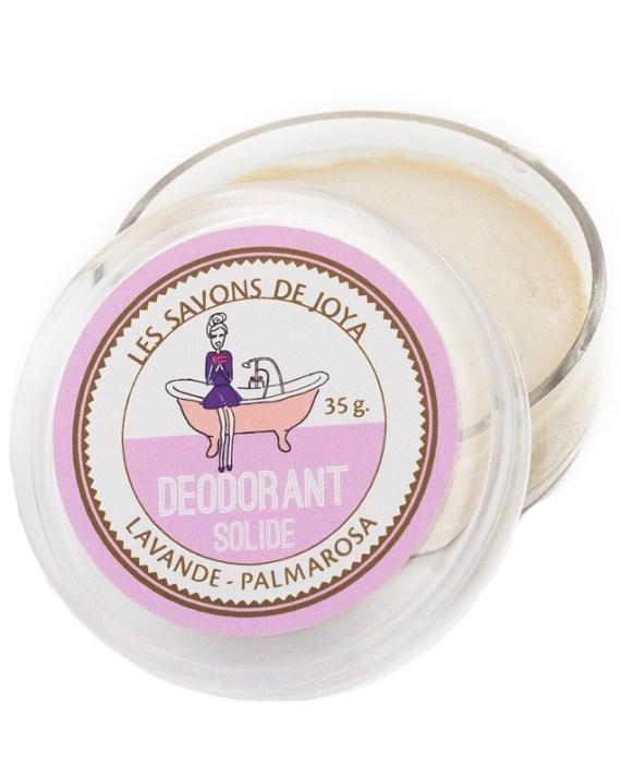 Desodorante Natural Sólido de Lavanda y Palmarosa
