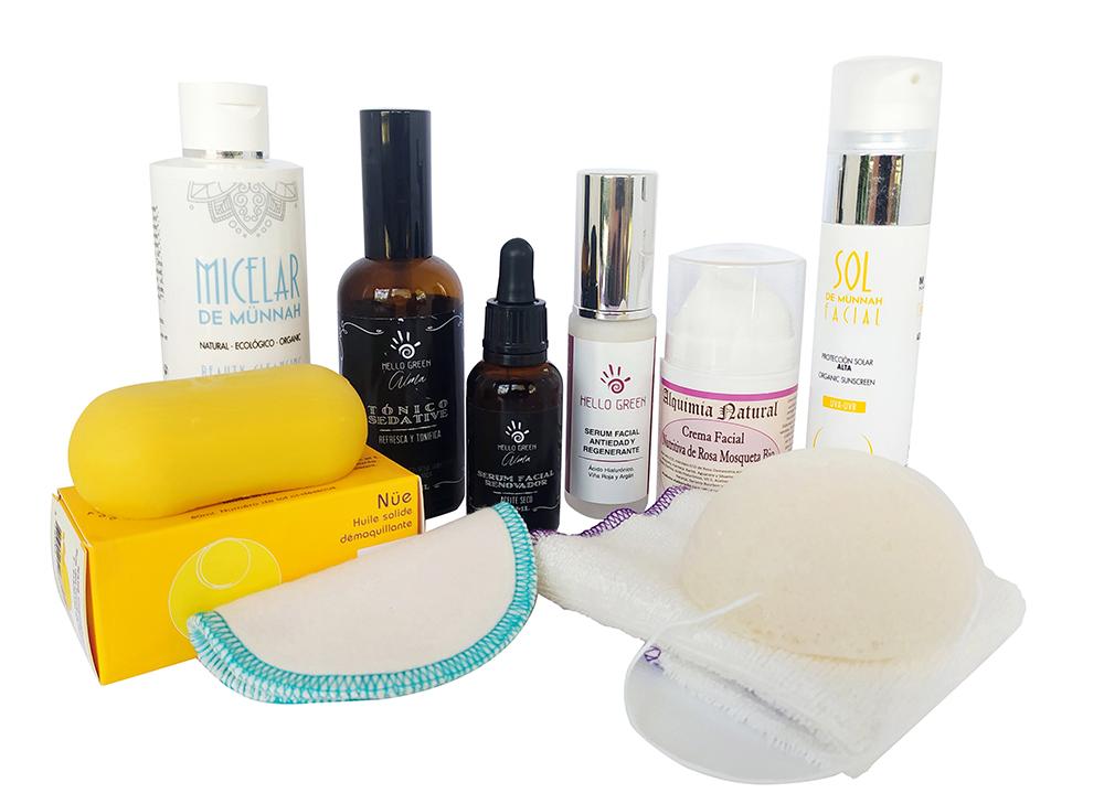 Rutina 100% natural para el cuidado facial