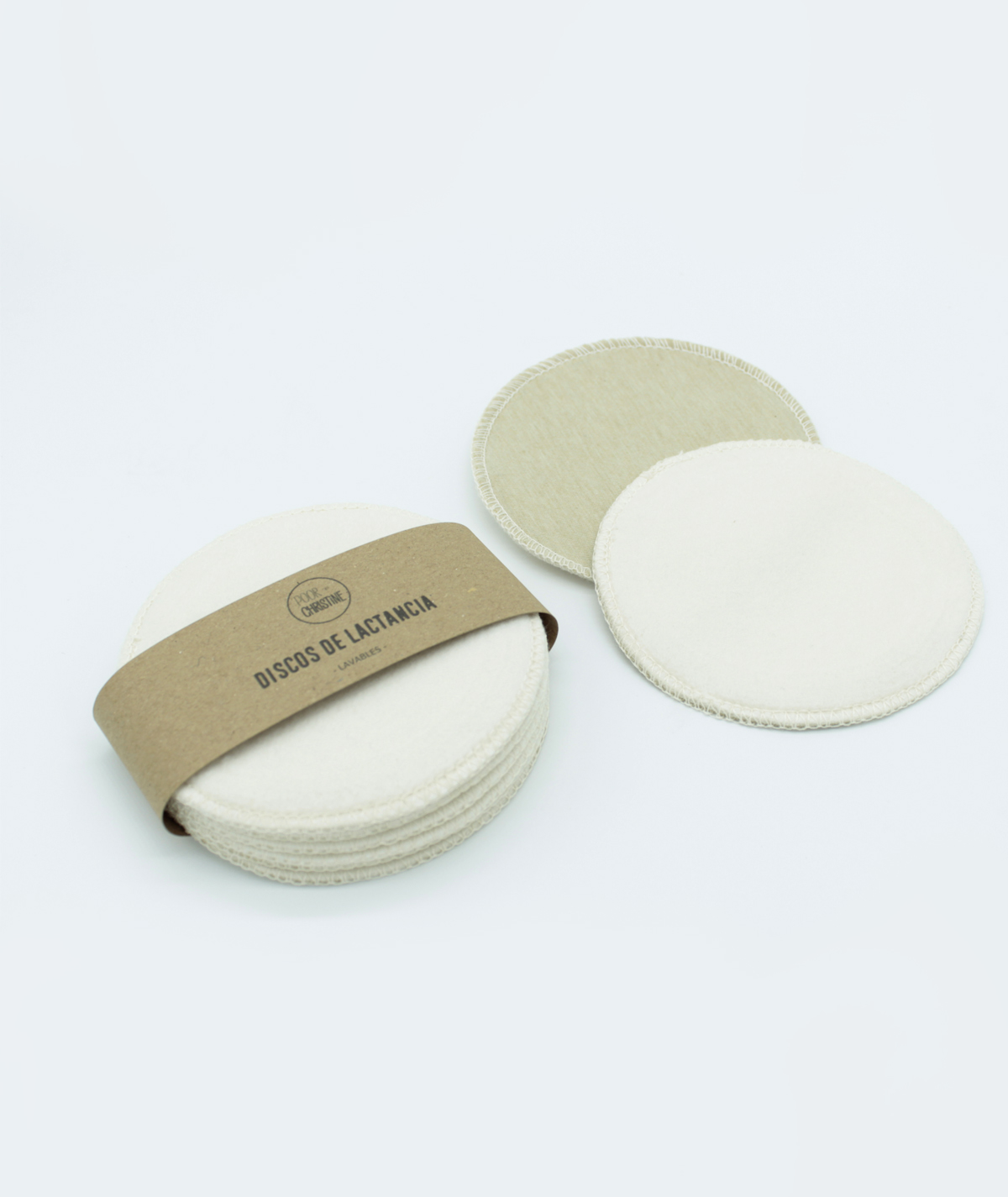 Pack 6 Discos de Lactancia de Algodón Orgánico