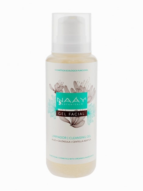 gel limpiador facial natural