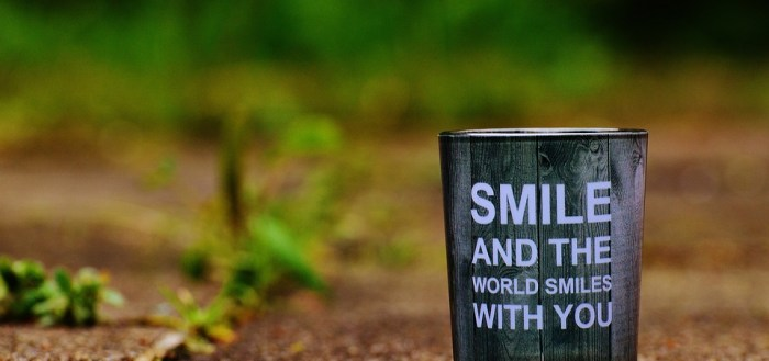 Smile and the world smiles with you Vidya Sury