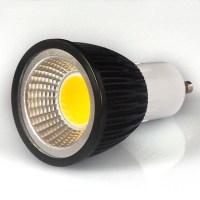 550 600lm GU10 LED spotlampen MR16 1 LED kralen COB Warm wit / Koel wit / Natuurlijk wit 85 265V ...