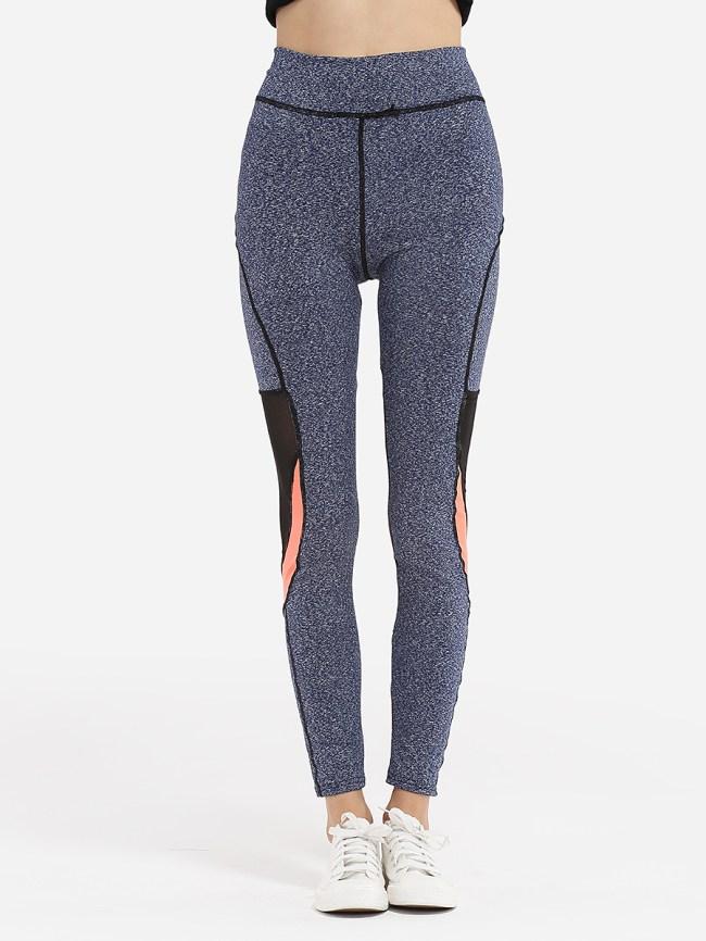 Fashionmia Dacron Patchwork Leggings