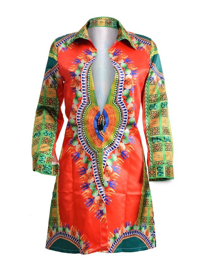 Fashionmia Single Button Bohemian Long Sleeve Trench Coats