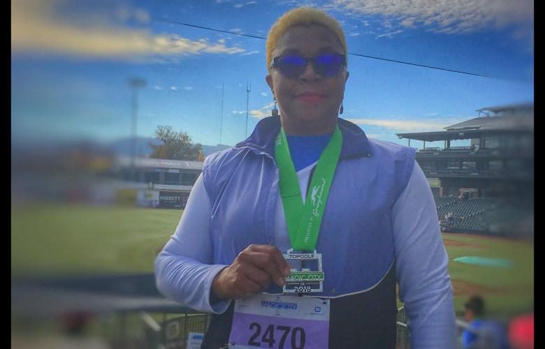 Girls on the Run 5K Medal
