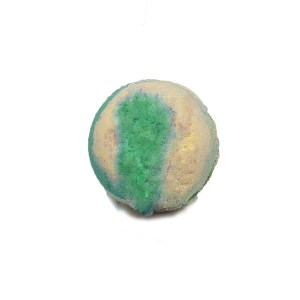 Yellow and Green Sphere Bath Bomb