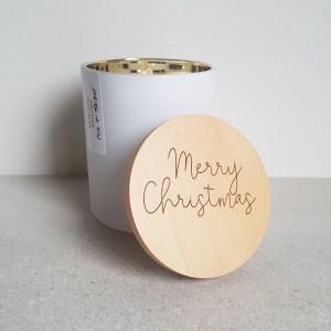 Christmas Tumbler Candle