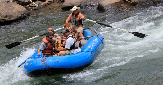 Special needs mad white water rafting